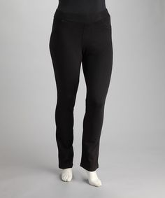 Look what I found on zulily Red Super Stretch Skinny Pants Plus