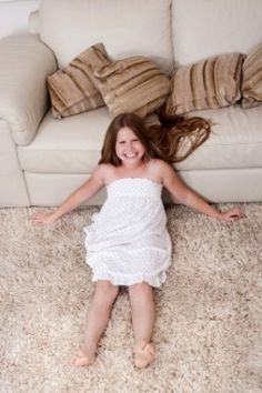 """With a few household products and a little bit of """"elbow grease,"""" you can remove oil stains from your carpets and rugs."""