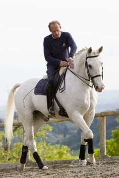Geraldo, KWPN, ridden by Gianni De Marci, owner and Instructor for over 25 years at Il Paretaio