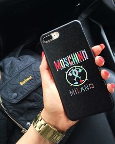 Moschino / IPhone 7 Plus / Case