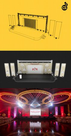 From start to finish, we let our expertise drive our work in translating your ideas into life. Turn your homecoming events to a memorable experience with us! Drop us an email at hello@geenger.com and let's talk how we can make it happen for you. #WeMakeItHappen #Corporate #Marketing #Events #StageDesign Dual Screen Wallpaper, Concert Stage Design, Corporate Event Design, Stage Set Design, Exhibition Stall, Church Stage, Website Design Layout, Stage Lighting, How To Memorize Things