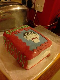 goosebumps birthday cakes - Google Search