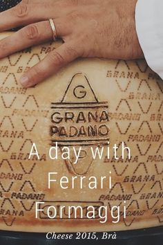 A day with Ferrari Formaggi at Cheese 2015