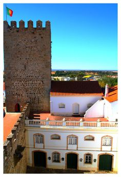 Alter do Chao Castle I   -  Alter do Chão - Distrito de Portalegre - Alto ALENTEJO / PORTUGAL  by FilipaGrilo