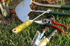 Care For Garden Tools..great article on maintenance.