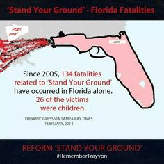 Truth be told... The craziness of children being involved in Stand your Ground fatalities...