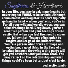 Zodiac City: Sagittarius & Heatbreak