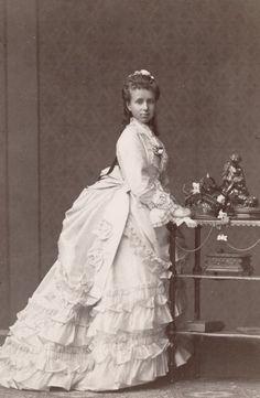 Archiduchesse Marie-Christine d'Autriche (1858-1929) reine d'Espagne, épouse du roi Alphonse XII