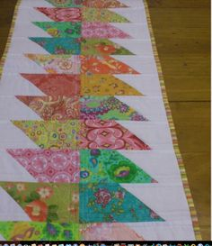 fun and easy table runner