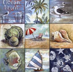 Ocean Decor, Beach Themed Decorating: Beach/ Nautical Decor Pictures
