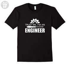 Men's Trust Me I'm An Engineer T SHIRT Small Black - Trust me im an engineer shirts (*Amazon Partner-Link)