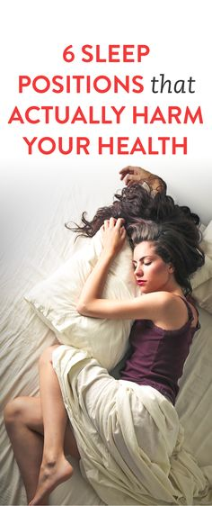 6 Sleep Positions That Actually Harm Your Health