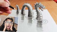 MENGGAMBAR 3D ART DIKERTAS PALING GOKIL SEPANJANG SEJARAH DUNIA! Trends, Popular, 3d, Instagram, Popular Pins, Beauty Trends, Most Popular