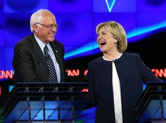 (The Borowitz Report)—In a major slip that may prove fatal to his Presidential ambitions, Sen Bernie Sanders of Vermont treated his principal opponent for the Democratic nomination w dignity and respect on Tue night. Calling it a gaffe of historic proportions, many political insiders were still scratching their heads Wed morning over Sanders's bizarre decision to act toward his opponent as if she were a fellow human being...