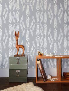 Aimee Wilder Indian Summer Wallpaper   2Modern Furniture & Lighting