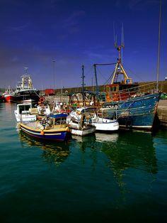 Trawlers Dunmore East - Waterford, Ireland
