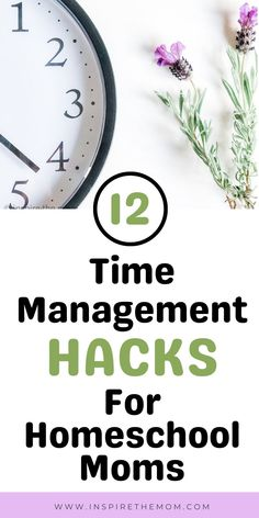 Learn how to make the most of your homeschool day with these 12 time management hacks for homeschool moms! #time #manage #management #homeschool #school #mom #hacks #tips #tricks #plan #planning #organize #schedule #routine #teacher #resource #productivitiy #productive #motivation #motivate #routine #routinely #habit Kindergarten Homeschool Curriculum, Homeschool Worksheets, Classroom Activities, Alternative Education, Good Time Management, Teaching Resources, Homeschooling Resources, Lesson Plans, Mom Hacks
