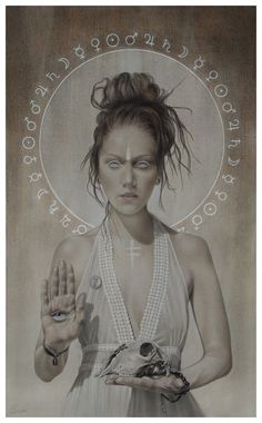 "#‎beautifulbizarre‬ presents our 'ARTIST ON THE RISE' spotlight:   ""Seven"" by Aussie artist Sandra Ovenden CONGRATS SANDRA!!"