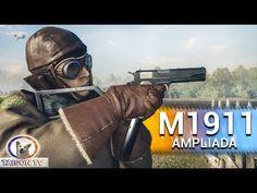 Battlefield 1 M1911 Con Culata, Cargador Extendido y Asa Delantera M1911...