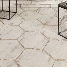 #BestWoodFlooring Mosaic Wall, Mosaic Tiles, Wall Tiles, Room Tiles, Marble Mosaic, Mosaics, Bathroom Floor Tiles, Shower Floor, Wood Look Tile