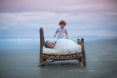 Photography Blog - Jenna Young Photography Newborn Sibling, Outdoor Furniture, Outdoor Decor, Newborn Photography, Toddler Bed, Photoshoot, Sunset, Beach, Blog