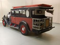 """1928 Graham-Paige Model 837 long wheelbase Limousine trackless """"sound train"""" by Harry McGee (700x525)"""