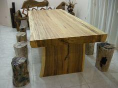 Rustic Wood Furniture for Original Modern Room Design with Rustic ...