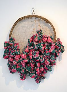 'If They Die We All Die' By Aby Mackie Mixed media Textile art Fiber art Sculpture Arte Povera