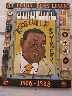 Roosevelt Sykes - Dalton Art