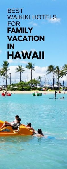 Family vacation ideas for Hawaii trip with Waikiki Beach hotels. Even when in Hawaii on a budget to save money on cost you can have best resort experience near Hilton Hawaiian Village. Kid-friendly activities on Oahu for families, teens. Oahu Vacation Rentals, Vacation Resorts, Hawaii Vacation, Hawaii Travel, Beach Trip, Vacation Ideas, Beach Travel, Travel Usa, Mexico Travel