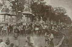 แห่ปราสาทผึ้งและเทียนพรรษา เมืองอุบลราชธานี (Siam, Thailand)