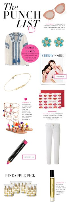 THE PUNCH LIST Luella \ June My Style Pinboard Pinterest - punch list