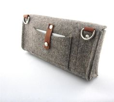 Cute multi functional Clutch purse.Homage to a by Ecolution