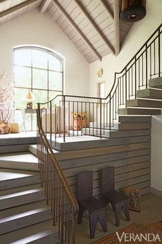 Interesting stair! South Shore Decorating Blog: 50 Favorites for Friday (#111)