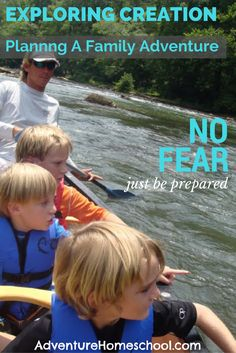 Exploring God's Creation - Day 3 - No Fear, Just be Prepared
