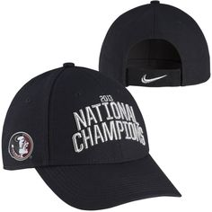 Nike Florida State Seminoles FSU 2013 BCS National Champions Locker Room Coachs Adjustable Hat