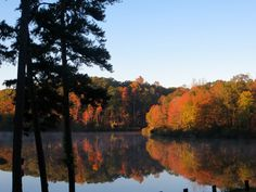 Twin Lakes State Park VA - October