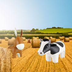 All the lovely Farm Animals to make you feel at home.