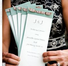 DIY Wedding Invitations,Programs, and Templates!