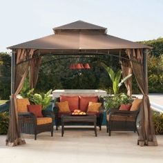 Wilson & Fisher South Hampton Gazebo at Big Lots ht this
