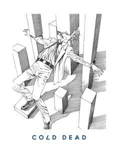 03 COLD DEAD  'You're Dead!' Flying Lotus artwork by Shintaro Kago