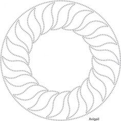 Abstract | Cirkel vormen | glittermotifs