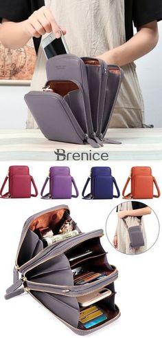 ca2f22bc6b0f pierre loues Women PU leather Clutch Bag Card Bag Phone Bag Crossbody Bag  is designer