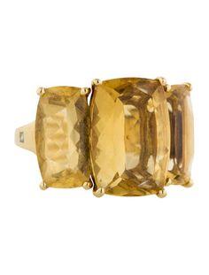 H. Stern Three Stone Ring