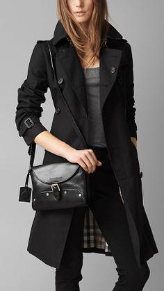 Flat Stud Detail Crossbody Bag | Burberry