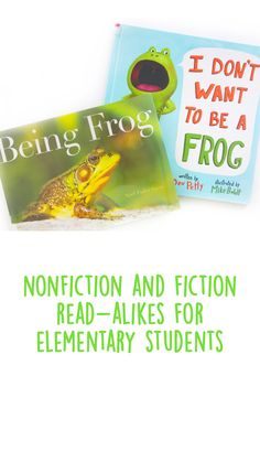 Kindergarten Preparation, Frog Theme, Home Daycare, Library Lessons, Play To Learn, Toddler Preschool, Nonfiction Books, Book Lists, Teacher Resources