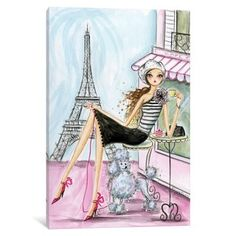 Shop for iCanvas 'World Traveler: Paris' by Bella Pilar Canvas Print. Free Shipping on orders over $45 at Overstock.com - Your Online Art Gallery Store! Get 5% in rewards with Club O!