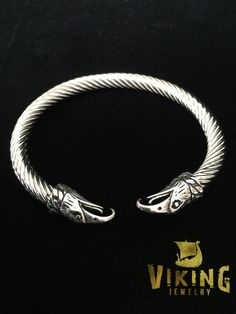 This Viking Raven Steel Bracelet size is 210*10mm made with high quality stainless steel that will never wear or tarnish and will last longer than a lifetime! Please make sure this will be able to fit