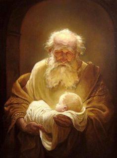 Simeon with Jesus, Andrey Shishkin ✿⊱╮