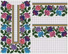 Embroidery Motifs, Vintage Embroidery, Cross Stitch Embroidery, Cross Stitch Patterns, Embroidery Designs, Cross Stitch Boards, Cross Stitch Rose, Embroidery Techniques, Needlework